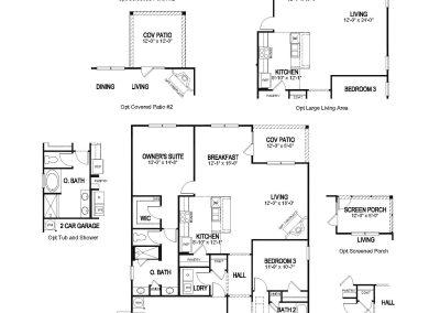 Acadia Floor Plan