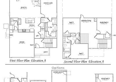 Belfort Floor Plan for Calabash Lakes