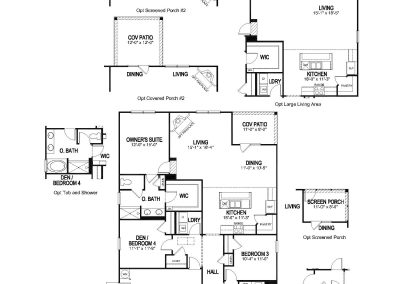 Claiborne Floor Plan